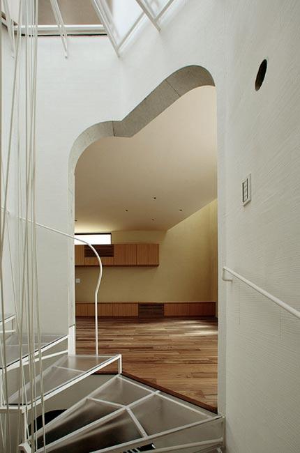 лестничный холл коттеджа