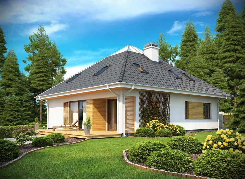 Проекты и дизайн загородных домов