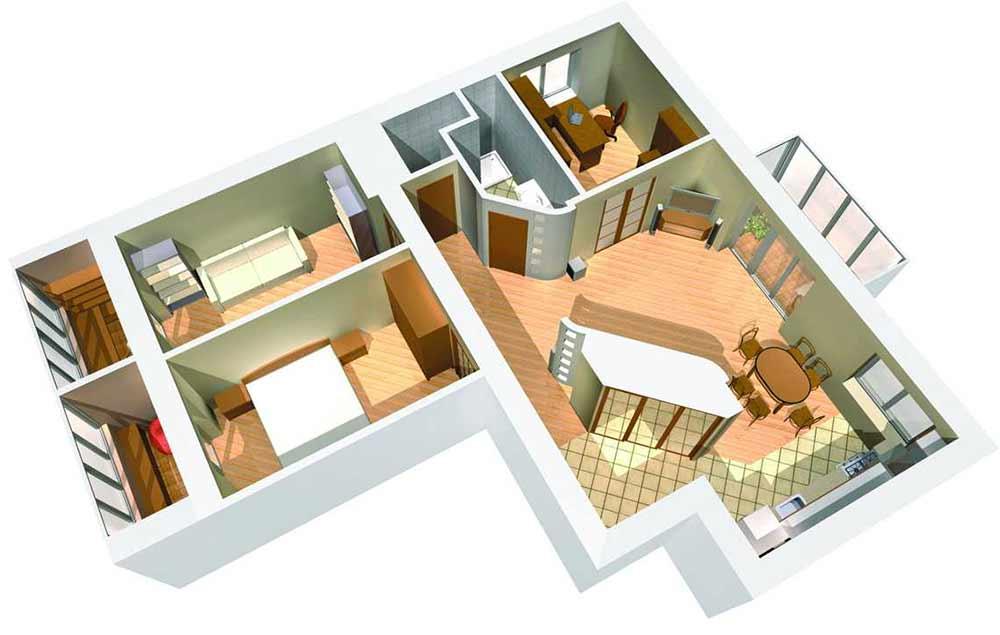 Онлайн дизайн квартиры самостоятельно бесплатно на русском